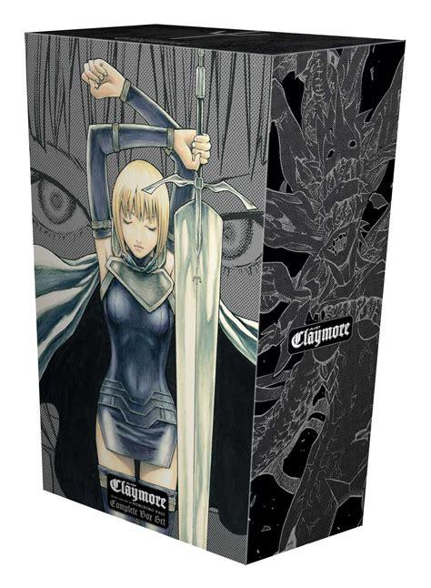 claymore complete box set volumes 1 27 with premium claymore complete box set book by norihiro yagi