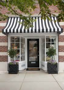 Simple Awning Design Simple Details Black And White Awnings