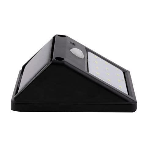 Motion Sensor Led Light Outdoor Solar Powered 12 Led Motion Sensor Outdoor Garden Entrance Wall Light L F5 Ebay