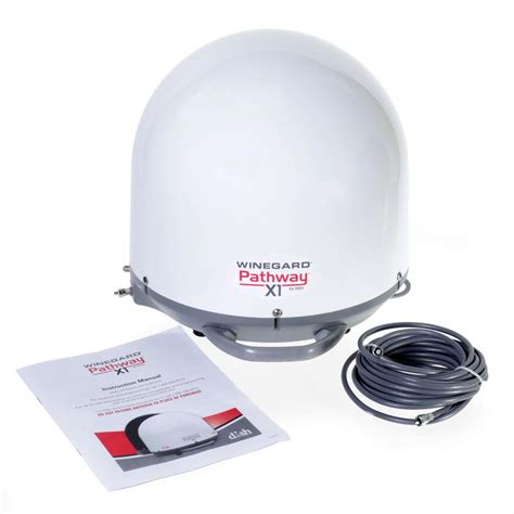 winegard pathway x1 portable satellite antenna white winegard pa 2000 satellite antennas