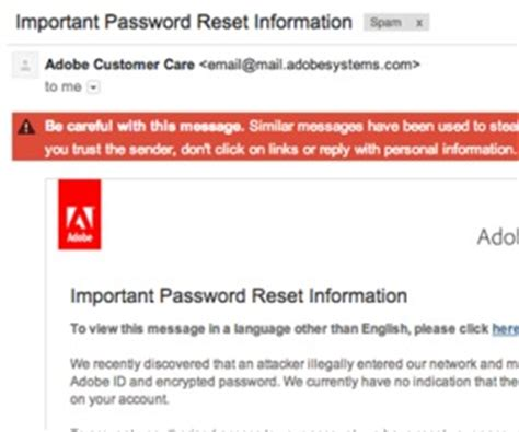 reset gmail via email gmail flags adobe password reset email as spam bit tech net