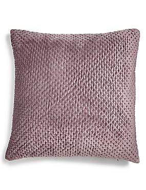 marks and spencer sofa throws velvet textured cushion