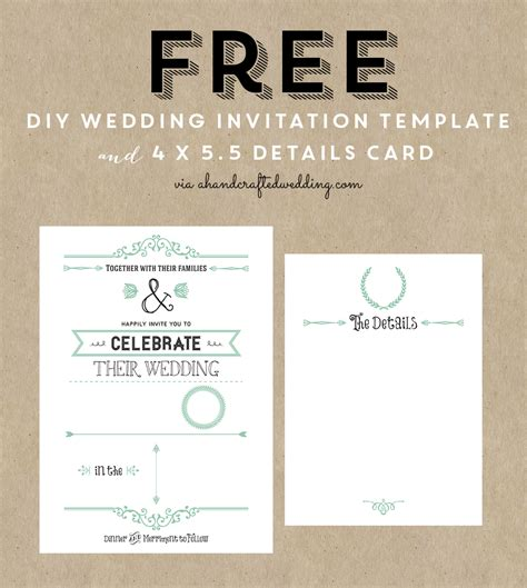 10 best blank invitation templates free premium templates