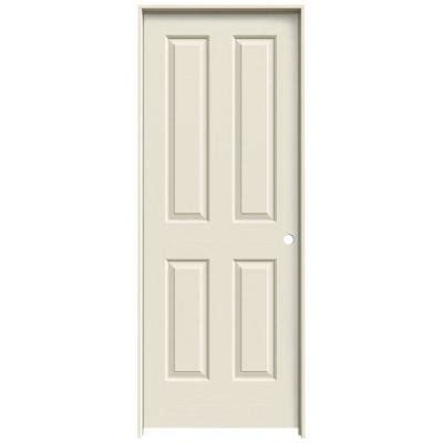 home depot prehung interior doors jeld wen textured 4 panel primed molded single prehung interior door thdjw137600057 the home depot