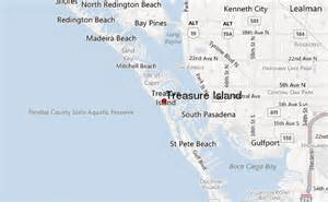 map of treasure island florida treasure island location guide