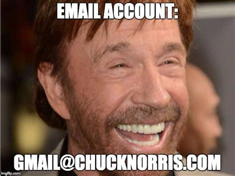 Email Meme - chuck norris imgflip