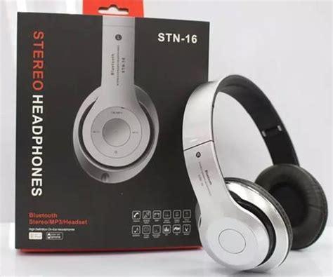 Promo Bluetooth Headphone Wireless Phone Headset Stn 16 Beats By Stn 16 Wireless Bluetooth Headphone Tf Card Fm Radio