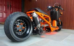 Yellow Honda Ruckus Honda Ruckus Orange Lowered Custom Bikez