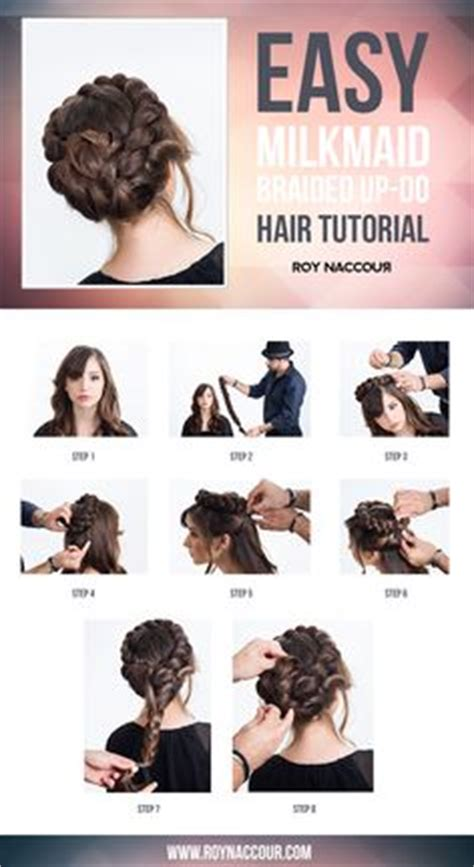 hanhs prom hair for dummies 5 different looks youtube 1000 images about hair on pinterest milkmaid braid