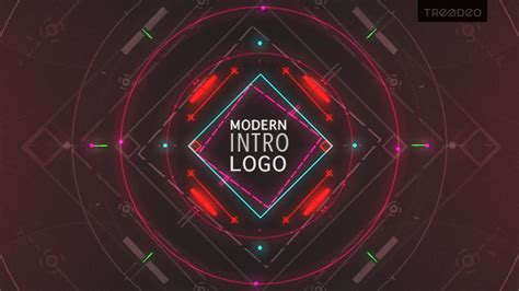 modern intro abstract after effects templates f5