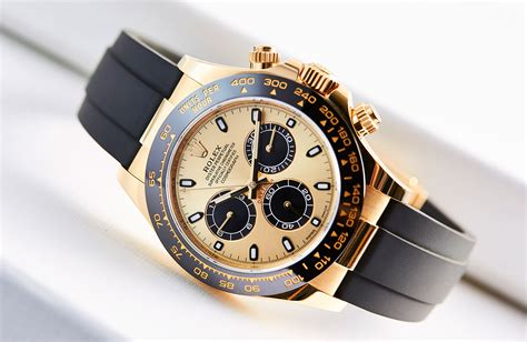 on a winning combination the yellow gold cerachrom and oysterflex rolex daytona ref
