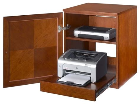 printer storage cabinet jesper printer cabinet real wood contemporary