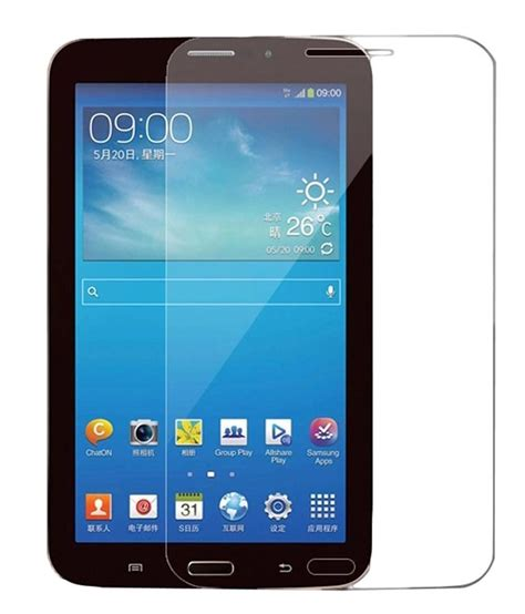 Tempered Glass Tab 3 mietubl tempered glass for samsung galaxy tab 3 buy