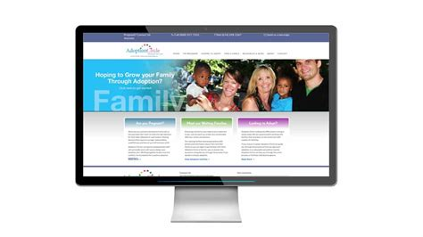adoption websites linear creative adoption circle website