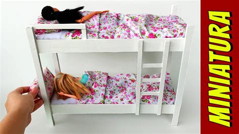 how to make a bunk bed how to make a bunk bed for doll