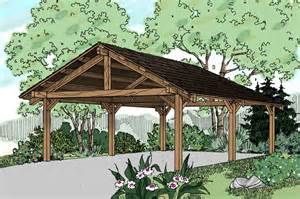 House Plans With Carport by Traditional House Plans Carport 20 028 Associated Designs