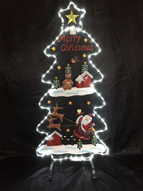 16 in solar powered christmas tree for cematery grave memorial products gifts