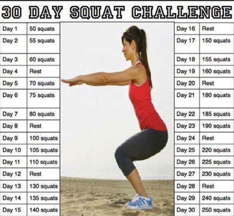 does the 30 day squat challenge really work health