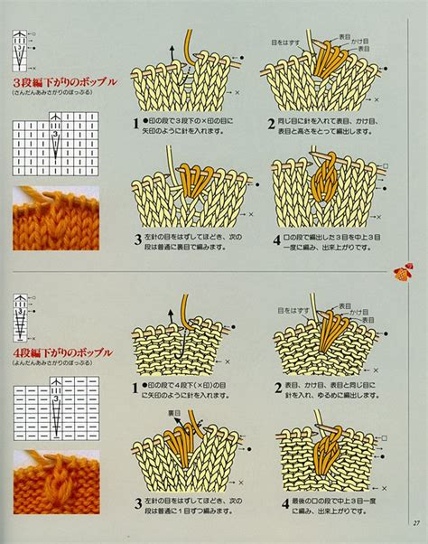 knitting pattern symbols fluffbuff japanese knitting symbols