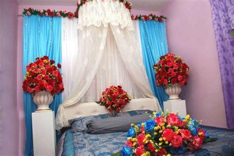 inspirasi dekorasi taburan bunga  malam pertama