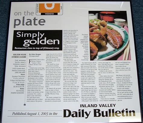 layout of a restaurant review article review about a restaurant