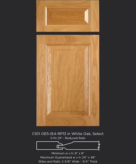white oak cabinet doors c101 oe5 ie4 rp13 white oak select taylorcraft cabinet