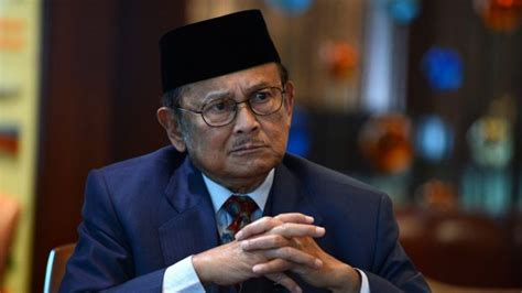 biography president habibie former indonesian president bacharuddin habibie rejects