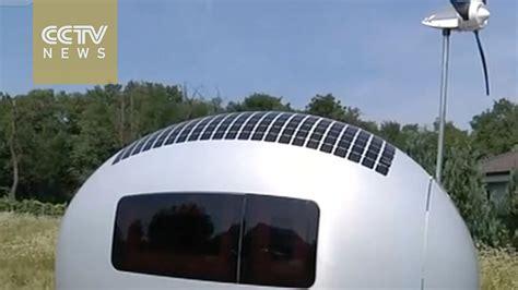 self sustaining homes slovak architects design self sustaining mobile home