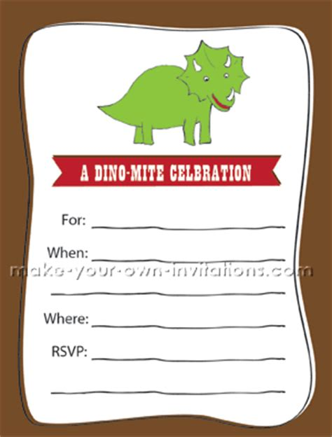printable dinosaur invitation cards freebie friday free dinosaur party printables