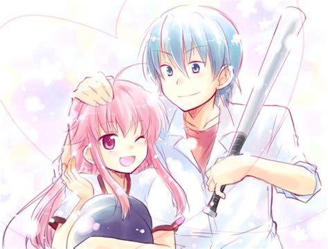hinata kawaii anime photo 33995613 fanpop hinata and yui anime couples fan art 26214652 fanpop