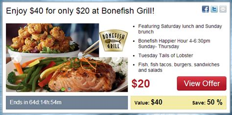 Bonefish Grill Gift Card Discount - bonefish grill coupon december 2018 online spa deals in chandigarh