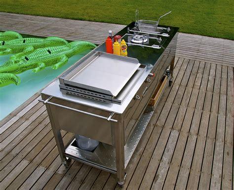 piani cottura da esterno barbecue la cucina si sposta in giardino cose di casa