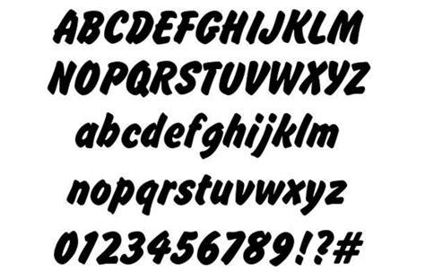 design font brush download 100 font gratis untuk desain grafis dan web