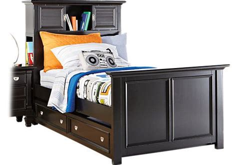 rooms to go bookcases shop for a belmar black 3 pc twin bookcase bed at rooms to
