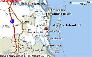 map amelia island florida amelia island fl map