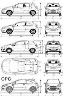 Opel Corsa Dimensions Opel Corsa 2011