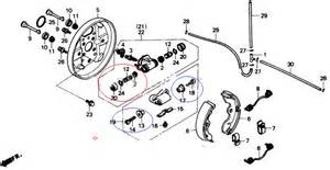 Brake System Problem Honda Honda Trx 300 Fourtrx Fw 1988 Honda Fourtrax Front Brake