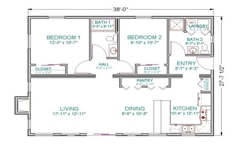 Small Open Concept House Plans by Ranch House Open Floor Plans Open Concept Ranch Simple