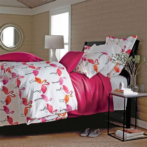 bedroom cover sets flamingo percale comforter cover tropical duvet covers