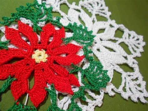 Antel De Noche Buenas A Crochet | flor noche buena crochet youtube