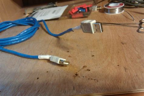 creating you own usb cables