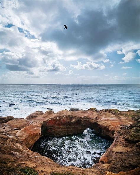 relaxing video of ocean waves at devils punch bowl youtube places to see citizenship 2016 rethinking grand