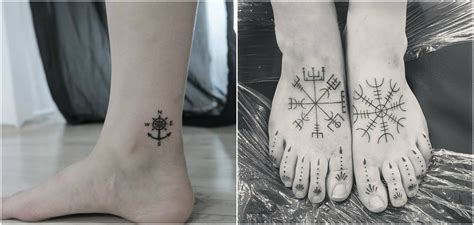 true north tattoo get beautiful design inked on your foot top