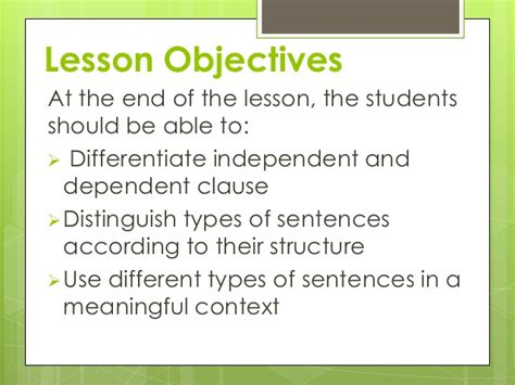 types of sentences according to pattern types of sentence according to structure