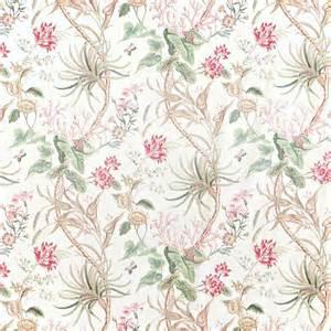 18th Century Home Decor mauritius fabric rose cream dcavma201 sanderson