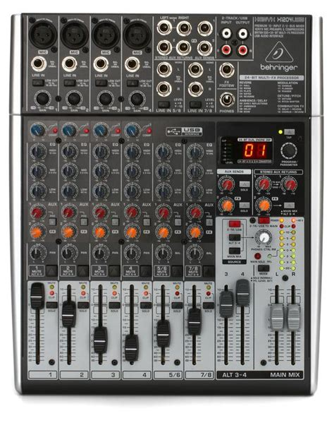 Mixer Behringer Xenyx X1204 Usb behringer xenyx x1204usb mixer and audio interface with