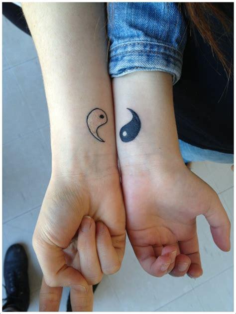 set of two halves of yin yang tattooimages biz