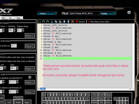 Dan Gambar Mouse Macro tennetstation cara setting mouse macro x7