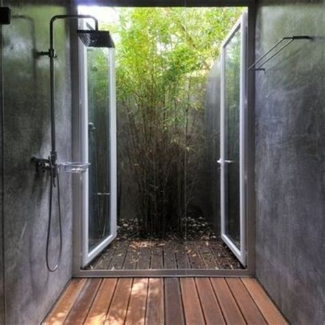 Indoor Outdoor Shower by Indoor Outdoor Shower Home Interiors Decor