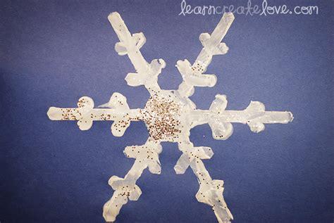 snowflake craft snowflake craft